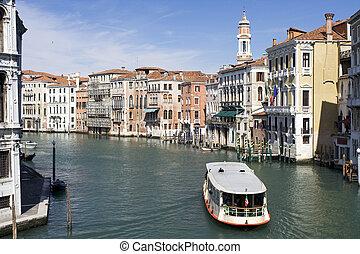 grande canal, veneza, (italy)