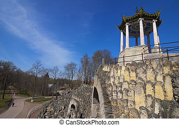 Grande Caprice Arch and Arbor with Blue Sky View ( Catherine...