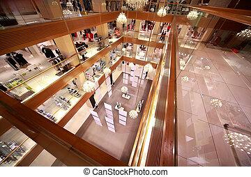 grande, centro commerciale