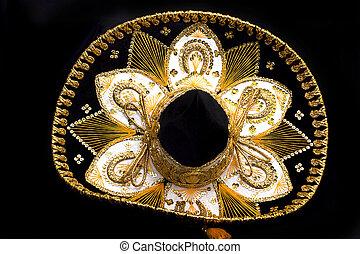 grande, chapéu mexicano
