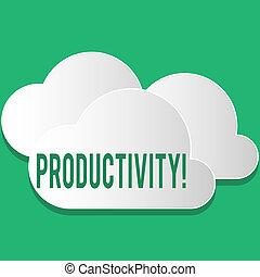 grande, concepto, success., eficaz, texto, trabajo, significado, escritura, productivity., perforanalysisce