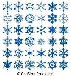 grande, diferente, snowflakes, cobrança