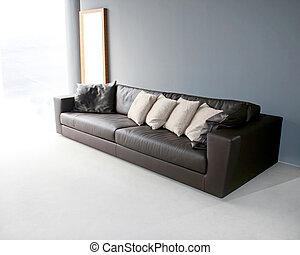 grande, divano
