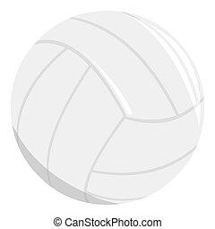 grande, entrenamiento, voleibol, solo, condición física, ...