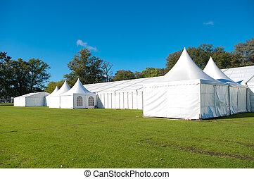 grande, evento, tenda