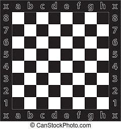 grande, gigantesque, tabla, ajedrez, señales