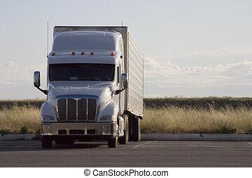 grande guarnece, caminhão, 2