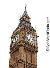 grande, londres, ben, palacio, westminster
