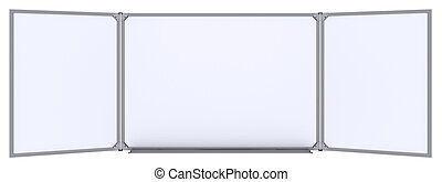 grande, magnetico, cartoncino bianco