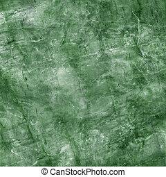 grande, marmo verde, struttura