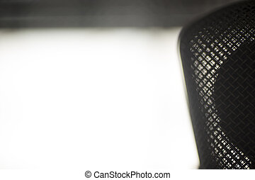 grande, microfono, diaframma, studio registrazione, voce
