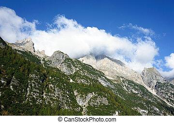 grande, montañas
