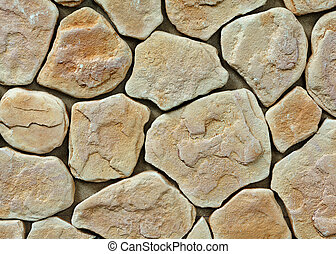grande, pared, textura de piedra