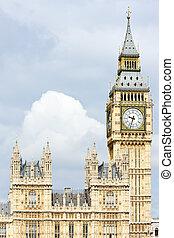 grande, parlamento, ben grande, casas, inglaterra, londres