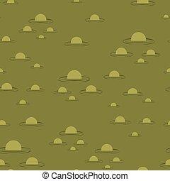 grande, pattern., seamless, pântano, experiência verde, mire...