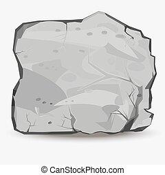 grande, pedra pedra