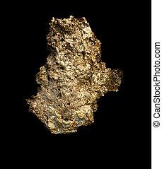 grande, pepita ouro