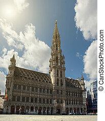 grande posto, bruxelles, belgio