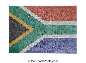 grande, rompecabezas, de, 1000, pedazos, -, sudáfrica