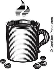 grande tasse, café