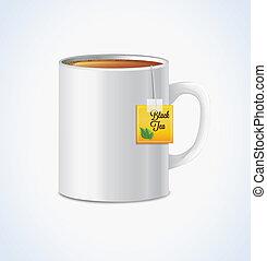 grande tasse thé, grand