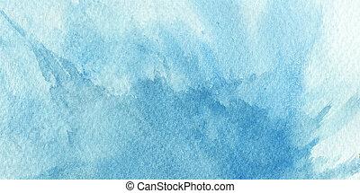 grande, tintas, -, textura, aquarela, papel, fundo, áspero