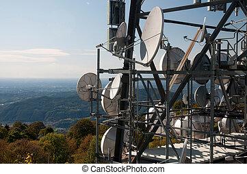 grande, torre televisione