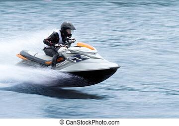 grande vitesse, ski, jet