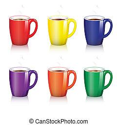grandes tasses café