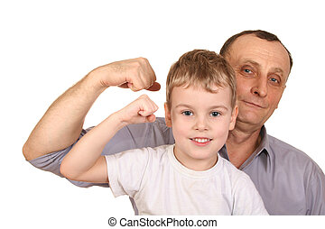 grandfather child biceps