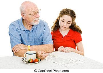 Grandfather Explains - Grandfather explains the democratic...