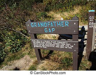 Grandfather gap