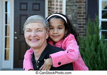 grandfmother, unoka