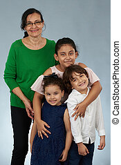 grandkids, nagyanyó