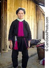 Grandma Black Dao - L\'origine ethnique Dao noir sont...