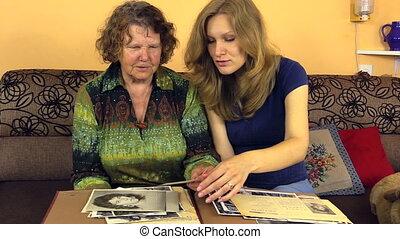 grandma look photo album