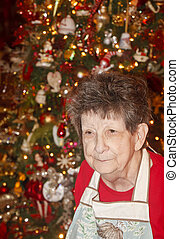 Grandmother at Christmas