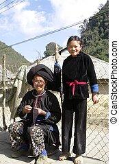 Grandmother Black Dao ethnic