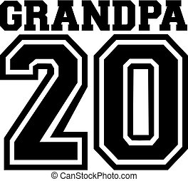 Grandpa 2020 grandfather - Grandpa in year 2020 grandfather
