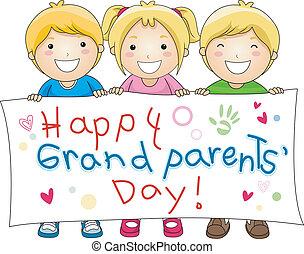 grandparents', 天