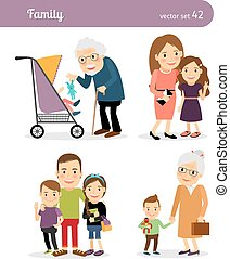 Grandparents and grandchildren - Grandfather and...