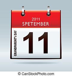 Grandparents calendar icon - Celebrate grandparents day with...