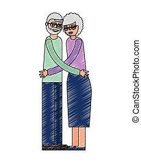 grandparents grandpa and grandma hugging