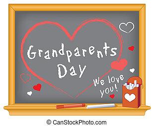 grands-parents, jour