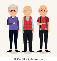 granfathers, gruppo, caratteri