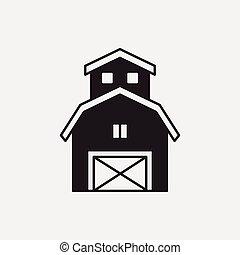 grange, icône
