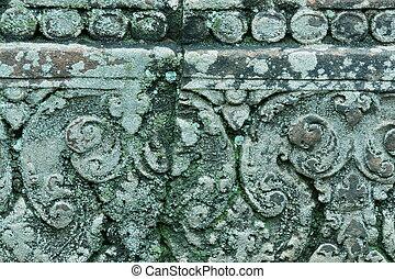 Grange - Battered carving