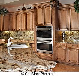graniet, keuken