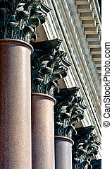 Granit columns of Isaacs cathedral - 72 columns from granit...