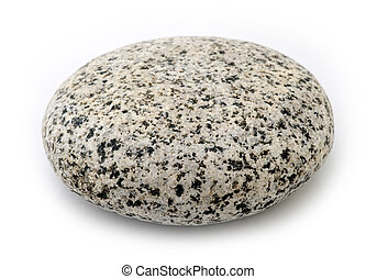 granit, -, runder , stein